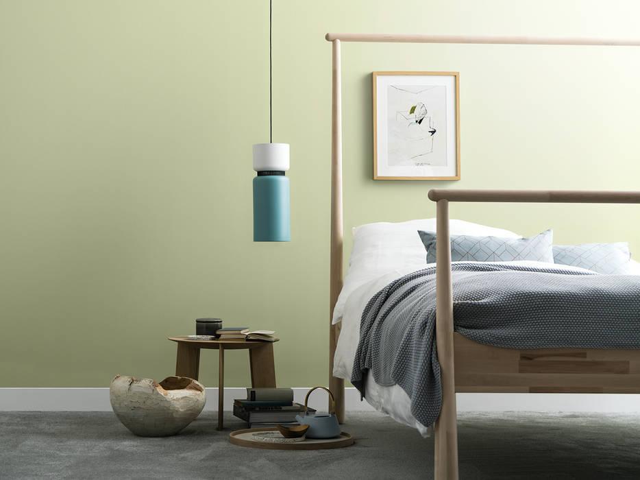 Birkengrün – naturell: moderne schlafzimmer von schöner wohnen-farbe ...