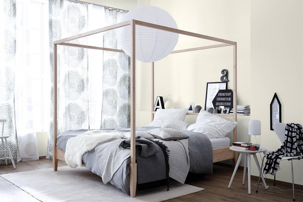 Naturweiß – naturell: wohnzimmer von schöner wohnen-farbe   homify