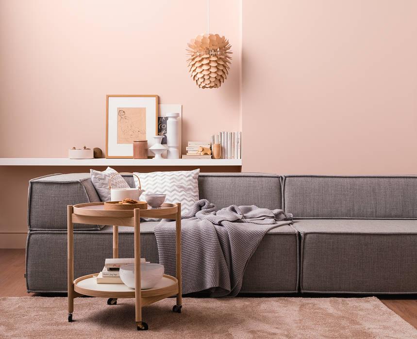 Quarzrosa – architects\' finest: wohnzimmer von schöner wohnen-farbe ...