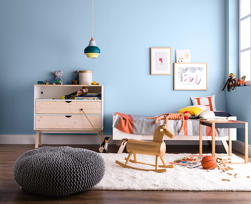 Nursery/kid's room by SCHÖNER WOHNEN-FARBE