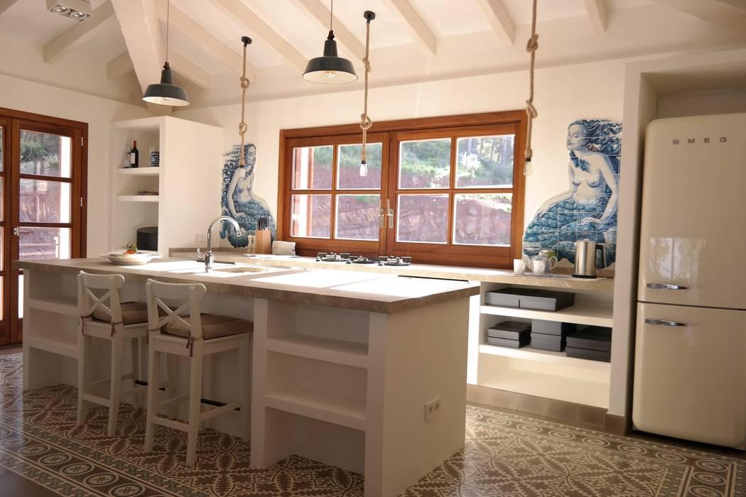 Ein Ferienhaus Als Hideaway Auf Mallorca Kuche Von Aid Studio Homify