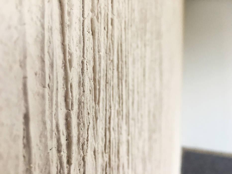 Die Baumrinde Fur Die Wand Naturliche Wandgestaltung Wohnzimmer
