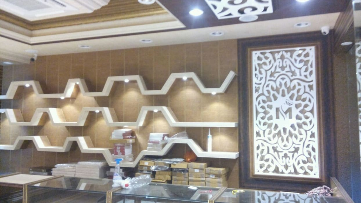 Jewellers showroom office spaces stores by maria decor