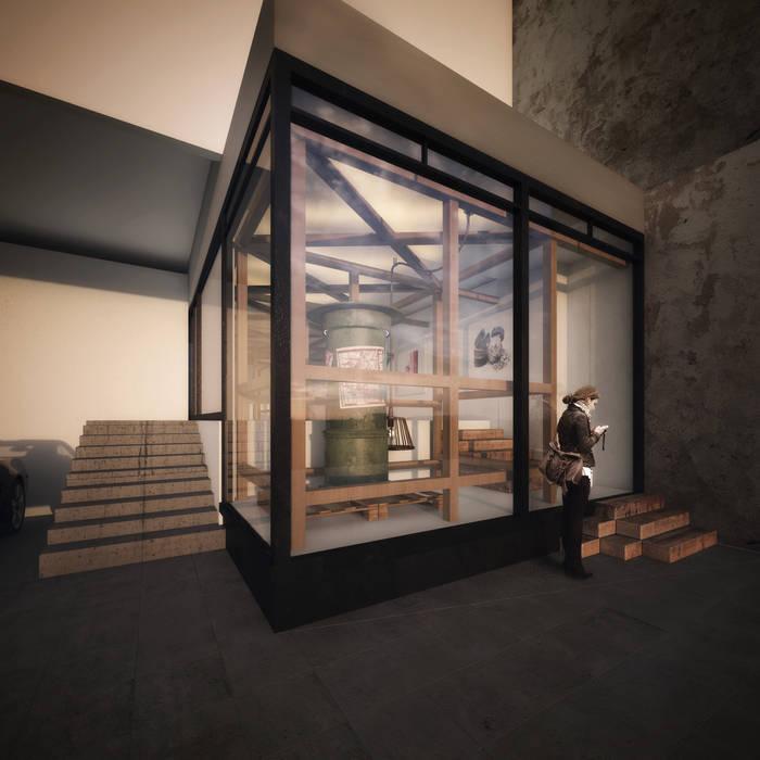 Primeras Propuestas : Estudios y oficinas de estilo moderno por FUNDAMENTAL