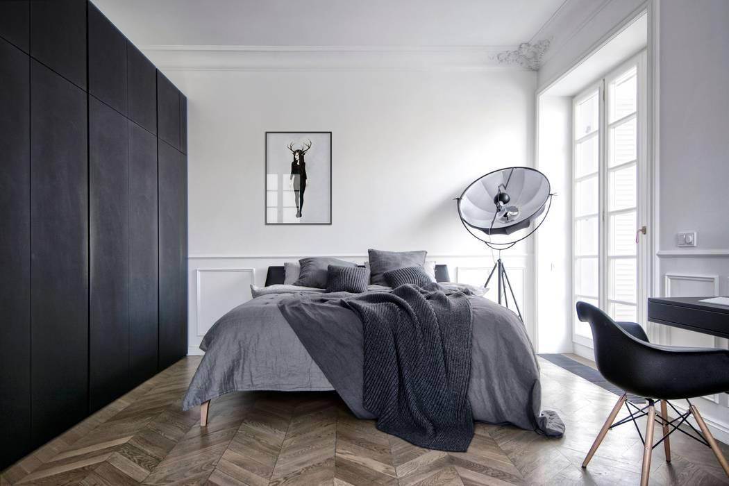 Интерьер AM: Спальни в . Автор – INT2architecture