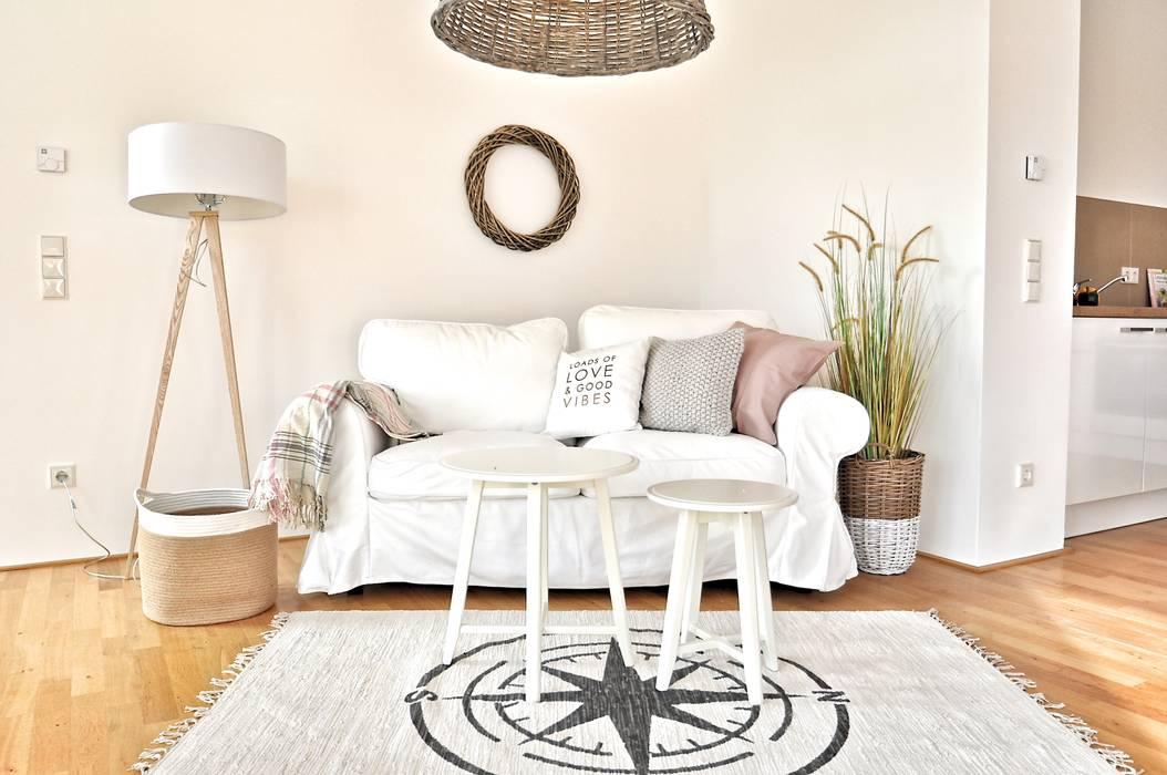 Nachher Wohnzimmer von Karin Armbrust - Home Staging
