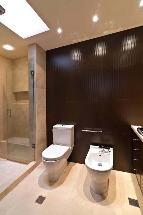 Casa 906: Baños de estilo  por Objetos DAC, Moderno