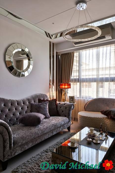 客廳 根據 大衛麥可國際設計工程有限公司 古典風