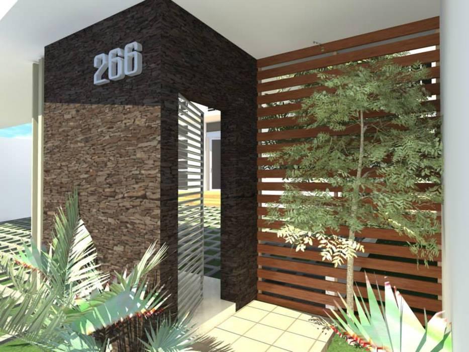 Casas de estilo moderno de Lobato Arquitectura Moderno