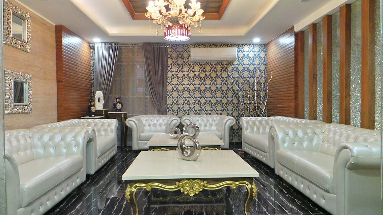 Shadab Anwari & Associates. Вітальня