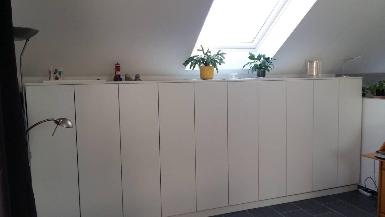 Sideboard Unter Dachschrage Kuche Von Schrankwerk De Homify
