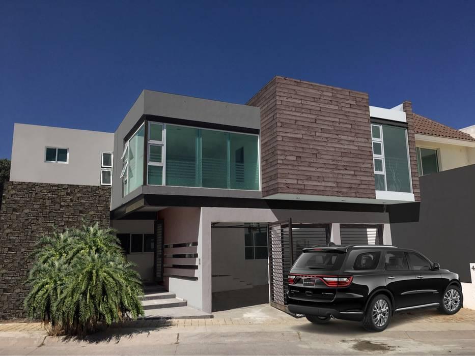 Remodelación Casas modernas de HF Arquitectura Moderno Derivados de madera Transparente