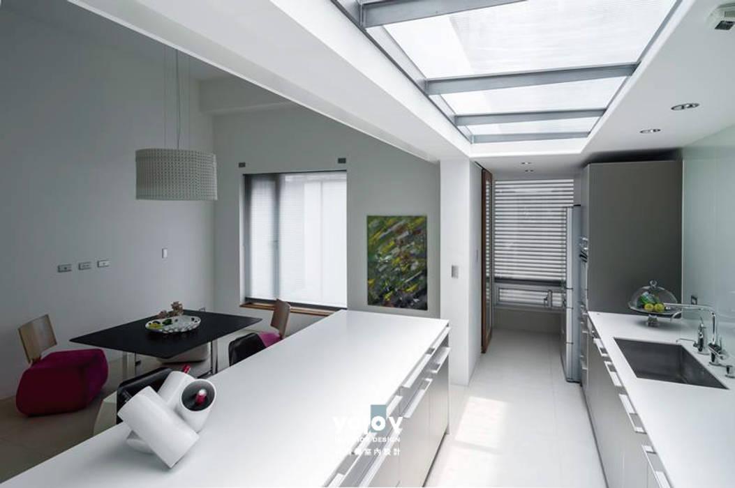 自然。隱逸 - 北歐風格 根據 有容藝室內裝修設計有限公司 北歐風