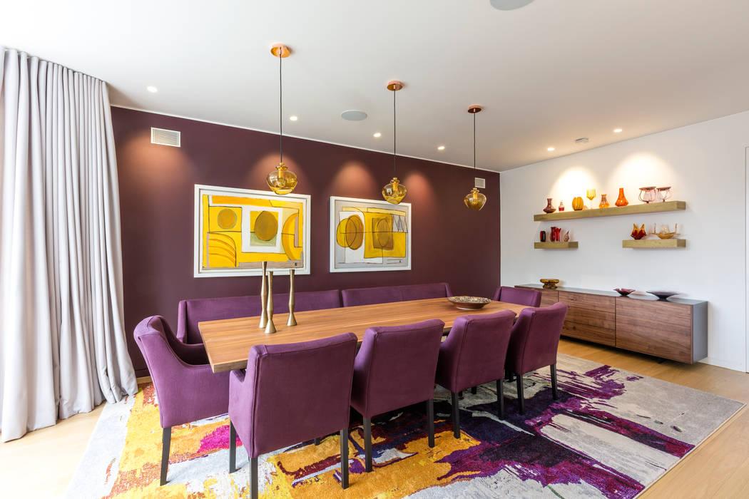 Dining room من Studio Mark Ruthven حداثي