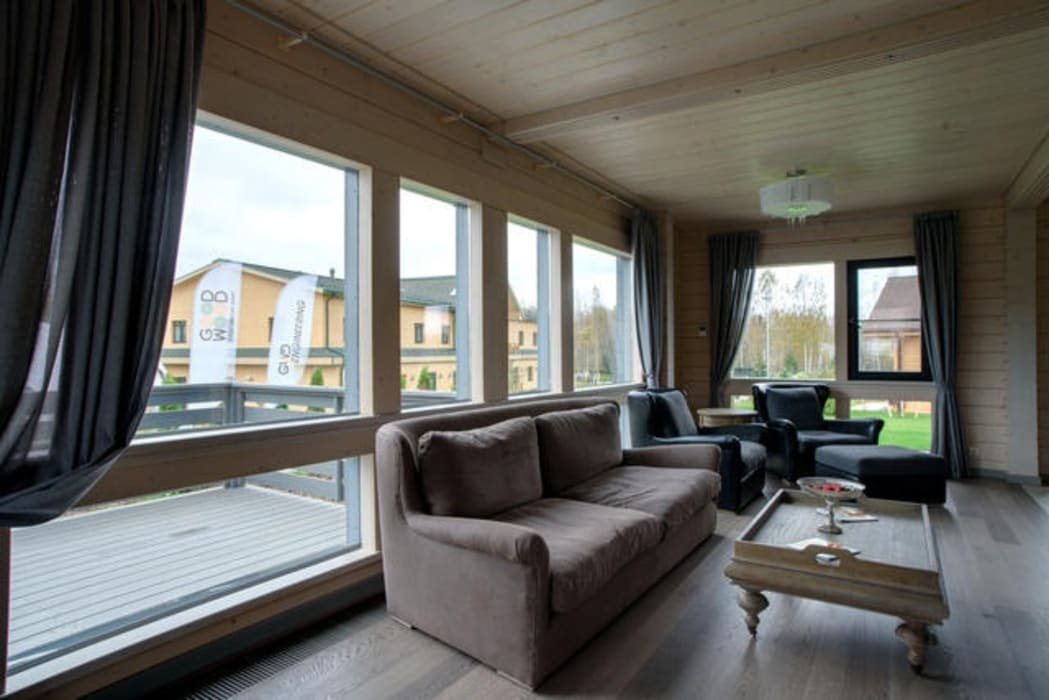 Modern living room by GOOD WOOD Modern