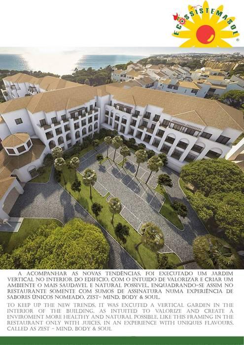 Pine Cliffs Ocenan Suites por Ecossistemas Minimalista