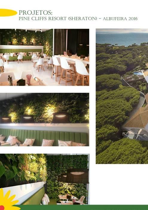 Pine Cliffs Ocean Suites Hotel por Ecossistemas Minimalista