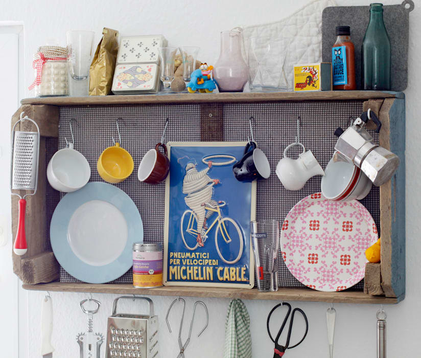upcycling & objets trouves christian hacker fotodesign KitchenCutlery, crockery & glassware Wood Brown