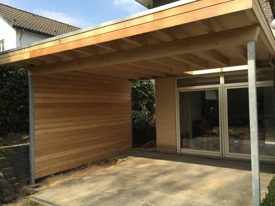Casas modernas: Ideas, imágenes y decoración de WE-Maatdesign Moderno Madera Acabado en madera