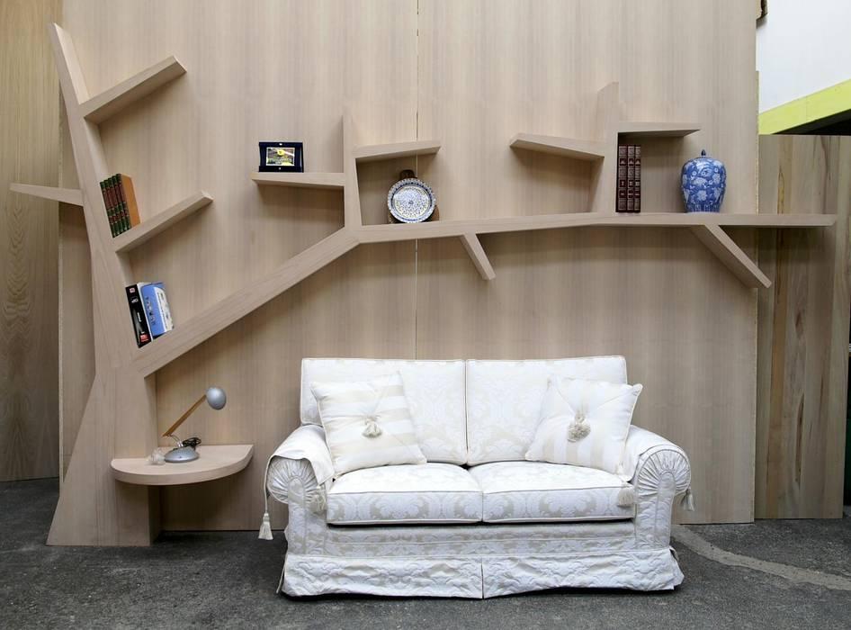 Libreria moderna per soggiorno for Mobili online a poco prezzo
