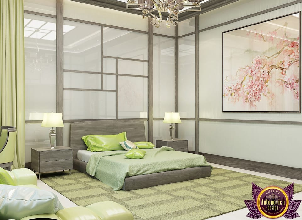Bedroom by Luxury Antonovich Design, Minimalist