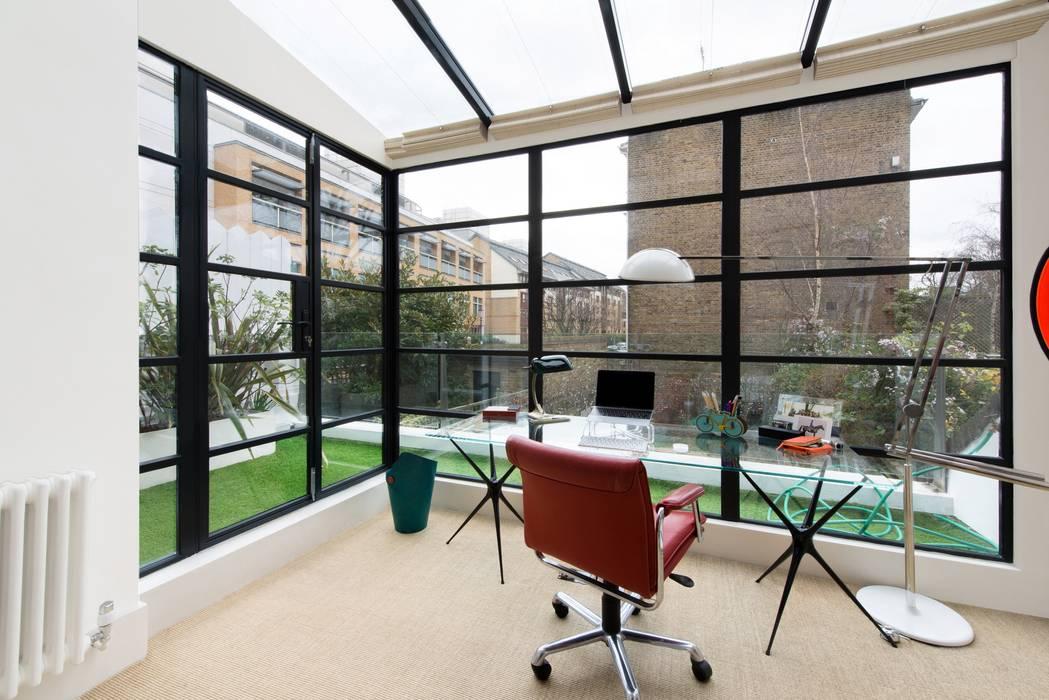 Estudios y despachos de estilo  de Orchestrate Design and Build Ltd., Moderno