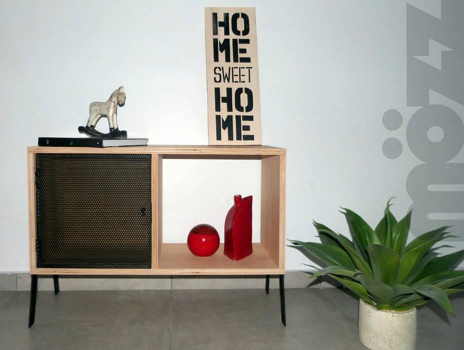 в современный. Автор – MÖZZ, Модерн Изделия из древесины Прозрачный