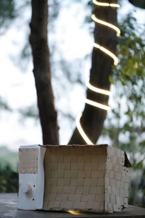 PAPER LAMP:  Living room by aanchal handicrafts