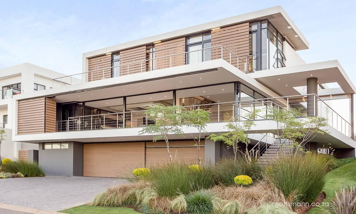Maisons modernes par Gottsmann Architects Moderne Verre