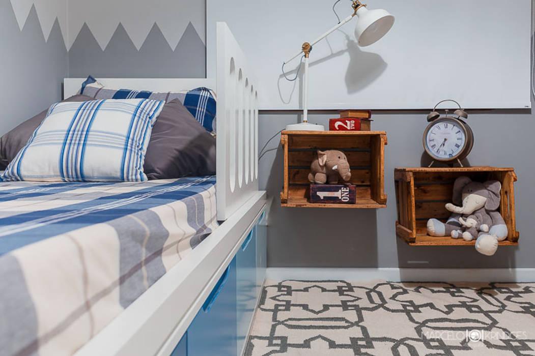 Dormitorios infantiles de estilo  de Treez Arquitetura+Engenharia, Rústico