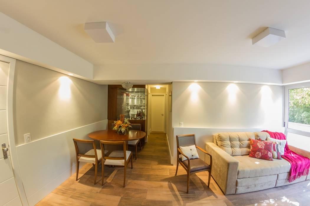Apartamento S204 Salas de jantar rústicas por Bloco Z Arquitetura Rústico