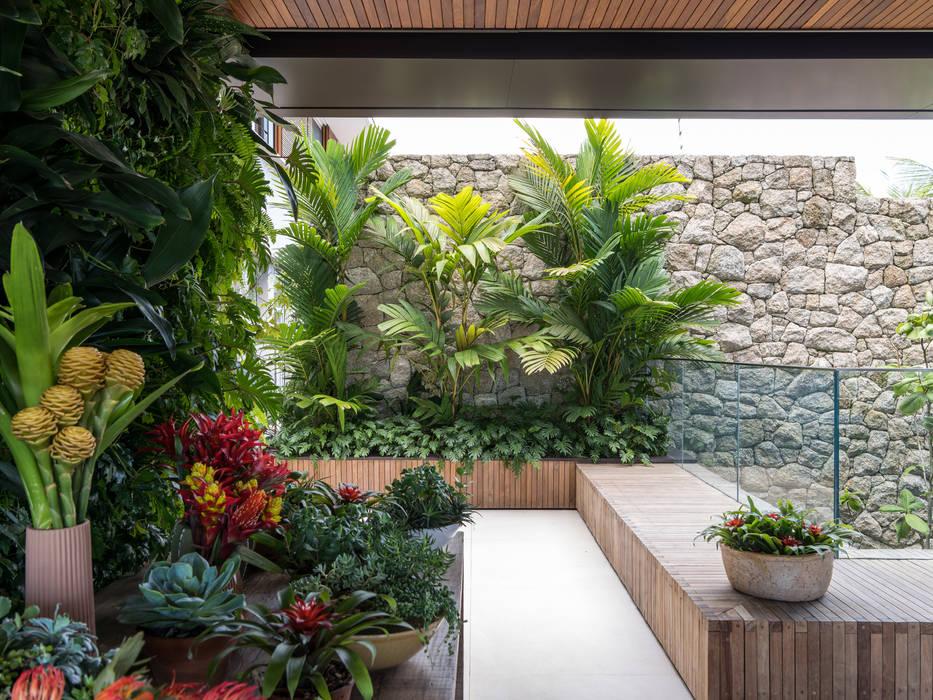 Jardin tropical par Daniel Nunes Paisagismo Tropical