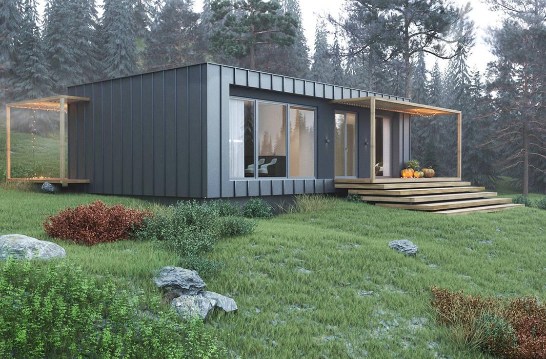 INTO THE WILD Espace Team Дома в стиле минимализм