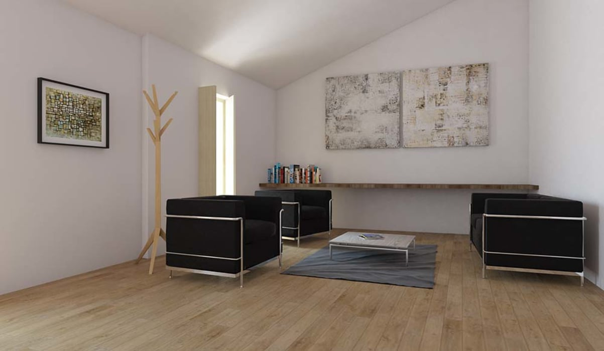 sala: Salas de estar  por atelier mais - arquitetura e design,