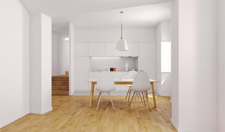 sala / cozinha Cozinhas modernas por atelier mais - arquitetura e design Moderno