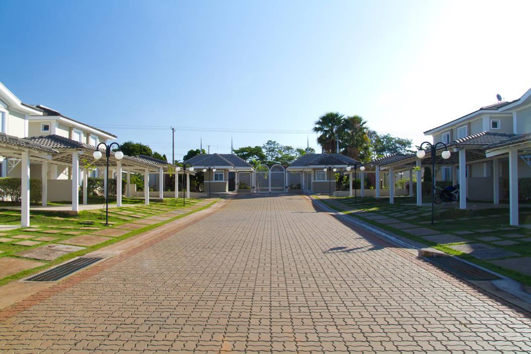 Oficinas y Comercios de estilo  por VOLF arquitetura & design, Rural
