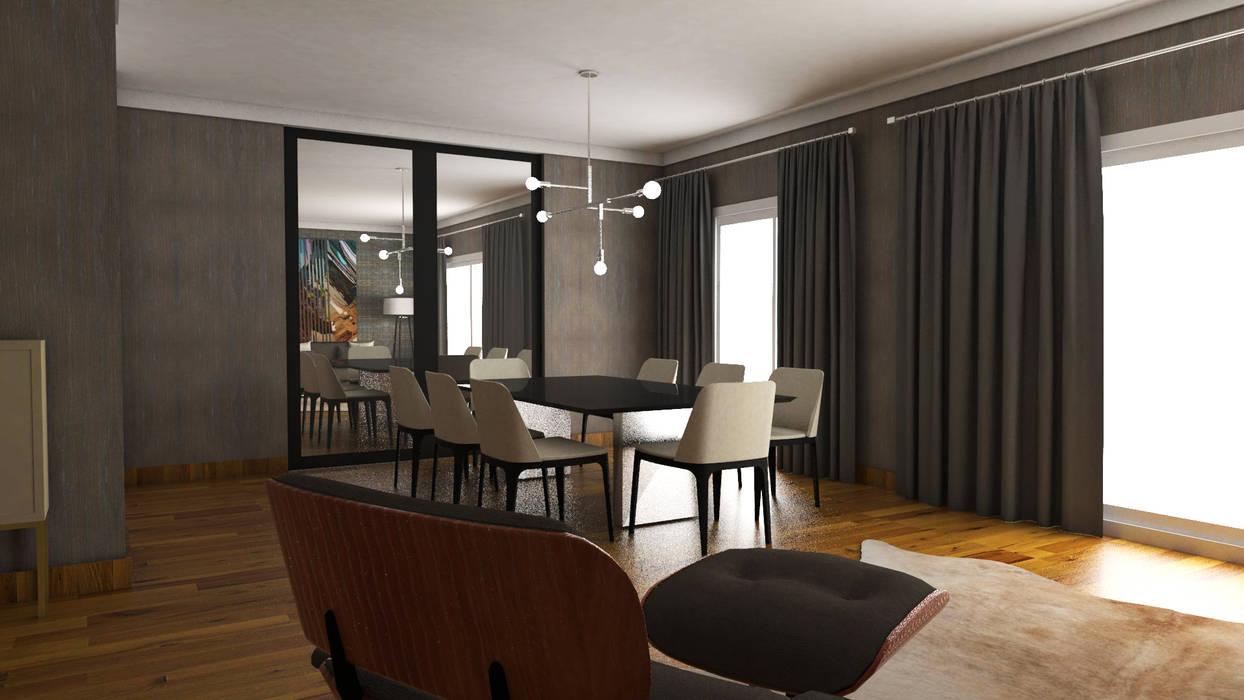 Salle à manger moderne par FEMMA Interior Design Moderne