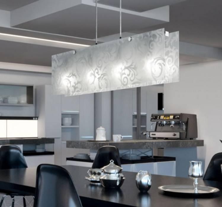 de Angelo Luz + Diseño Moderno Vidrio