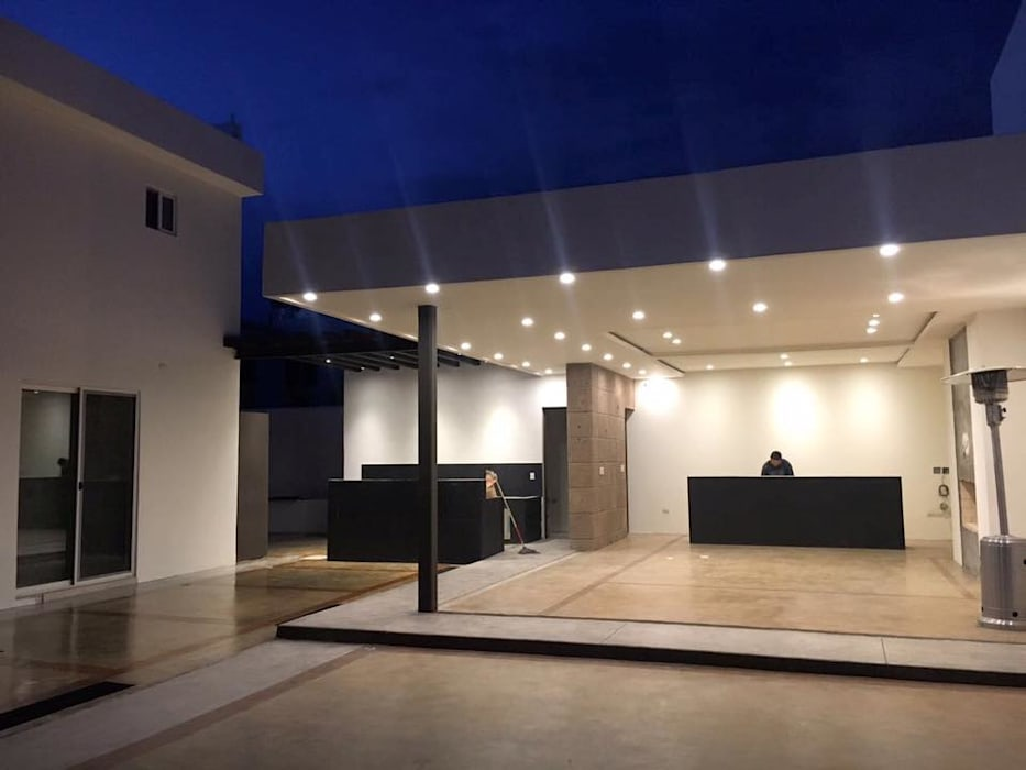 AMPLIACIÓN RESIDENCIAL LA RIOJA: Casas de estilo moderno por COTA ESTÉVEZ ARQUITECTURA