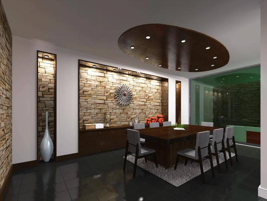 Casa FM: Comedores de estilo  por HC Arquitecto, Minimalista