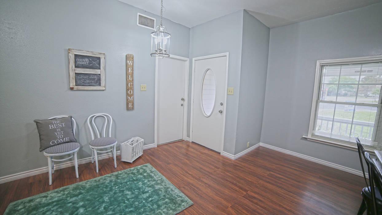 乡村风格的走廊,走廊和楼梯 根據 Noelia Ünik Designs 鄉村風