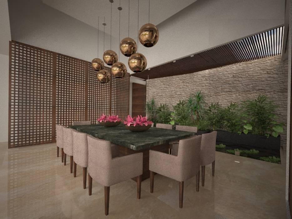 Comedor: Comedores de estilo moderno por Vau Studio