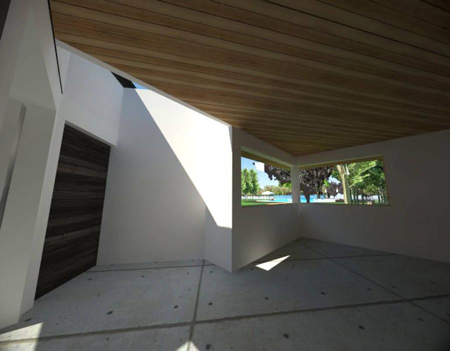 Centro de eventos, Codigua, Melipilla.: Livings de estilo  por Toledo estudio Arquitectos,