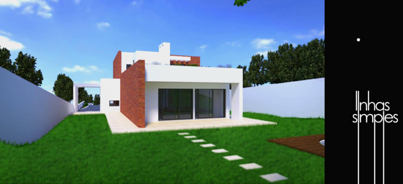 Linhas Simples Rumah Modern