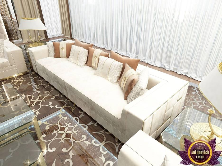 Salas de estilo moderno de Luxury Antonovich Design Moderno