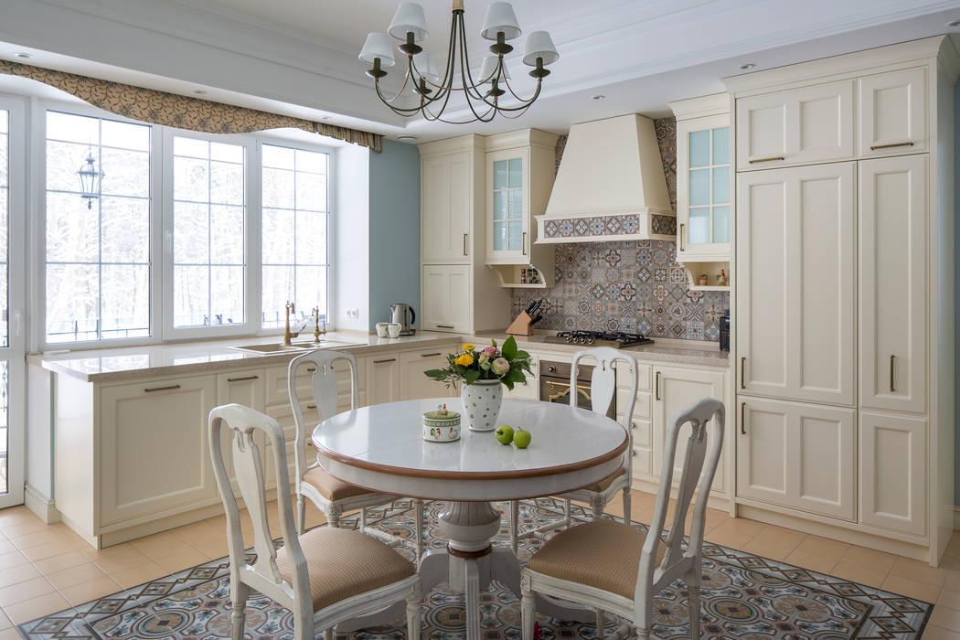 Загородный дом Кухня в стиле кантри от А-Дизайн Кантри