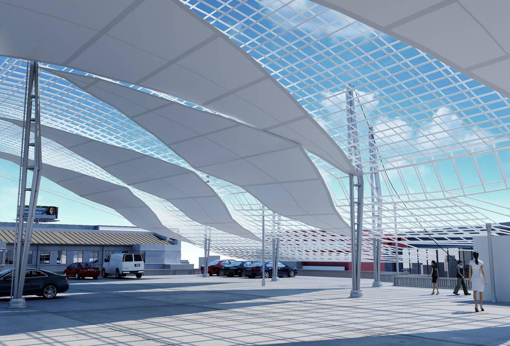 Garasi Gaya Mediteran Oleh ROAS ARCHITECTURE 3D DESIGN AGENCY Mediteran