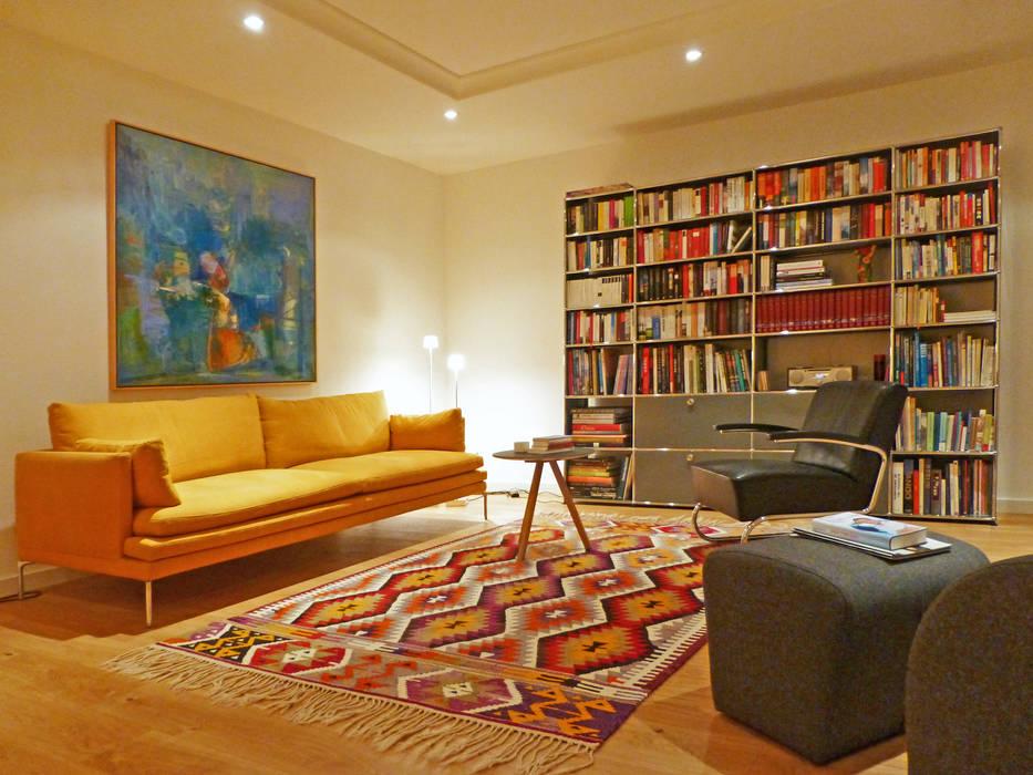 Wohnräume Dekoriert Mit Kiran Kelims: Moderne Wohnzimmer Von Kiran Kelim U0026  Teppich Kunst