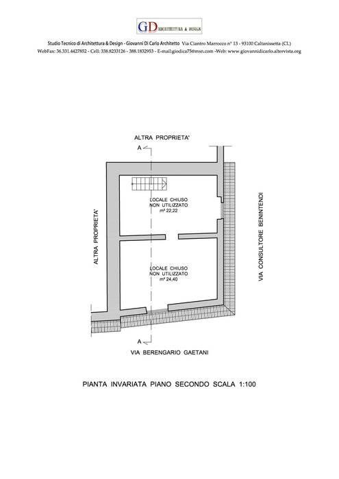 Piano Secondo: Gastronomia in stile  di Studio GD Architettura & Design (Arch. Giovanni Di Carlo)