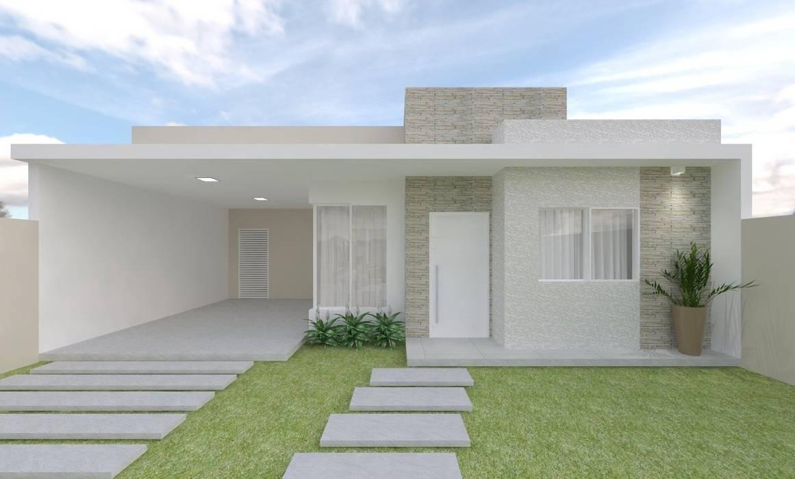 Fachada Casas modernas por homify Moderno